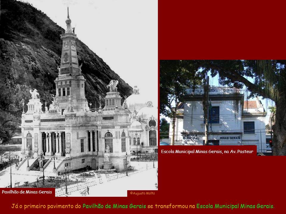 De todos, somente o Pavilhão dos Estados sobreviveu inteiro e é hoje o Museu de Ciência da Terra. Pavilhão dos Estados ©Augusto Malta Museu de Ciência
