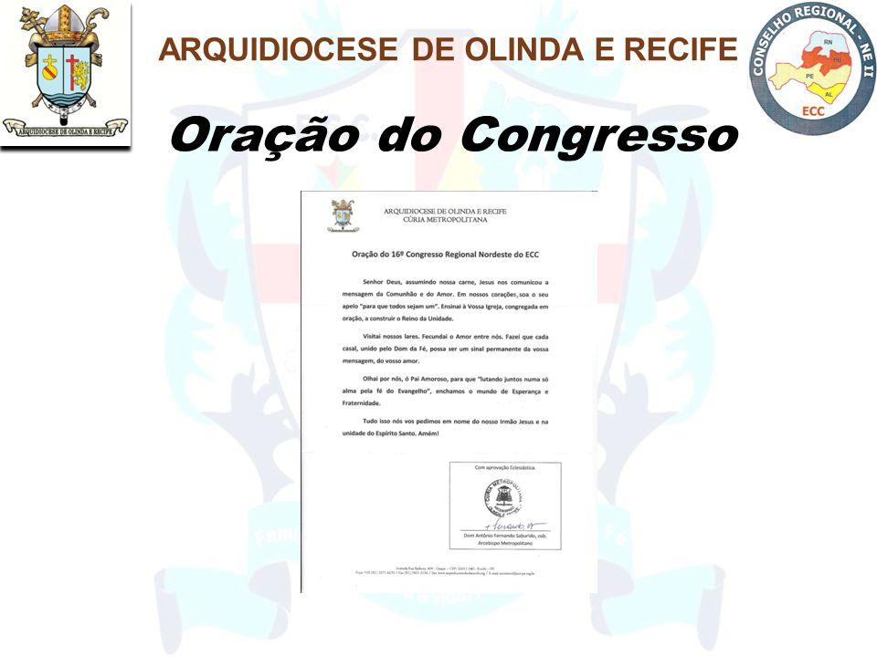 Oração do Congresso ARQUIDIOCESE DE OLINDA E RECIFE