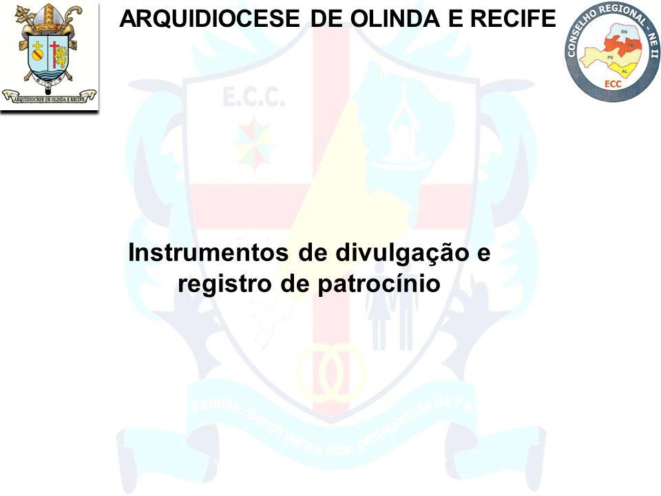 Instrumentos de divulgação e registro de patrocínio