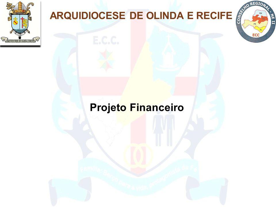 ARQUIDIOCESE DE OLINDA E RECIFE Projeto Financeiro