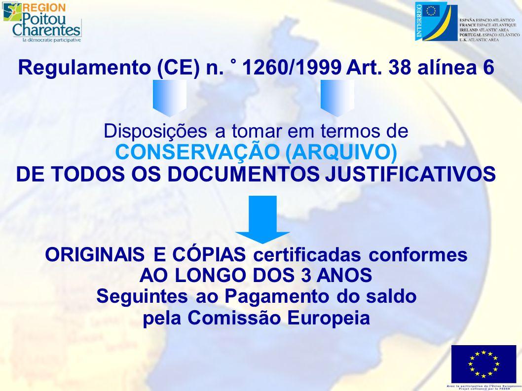 Plano de Arquivo A maioria dos ORIGINAIS arquivados na AUTORIDADE DE GESTÃO (A.G.) MAS...