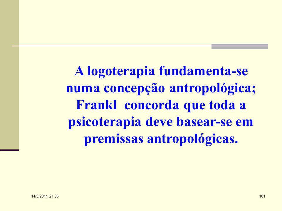 14/9/2014 21:38 100 O fenômeno humano só pode ser visto cientificamente com o pressuposto de uma antropologia filosófica, de uma totalidade na unidade