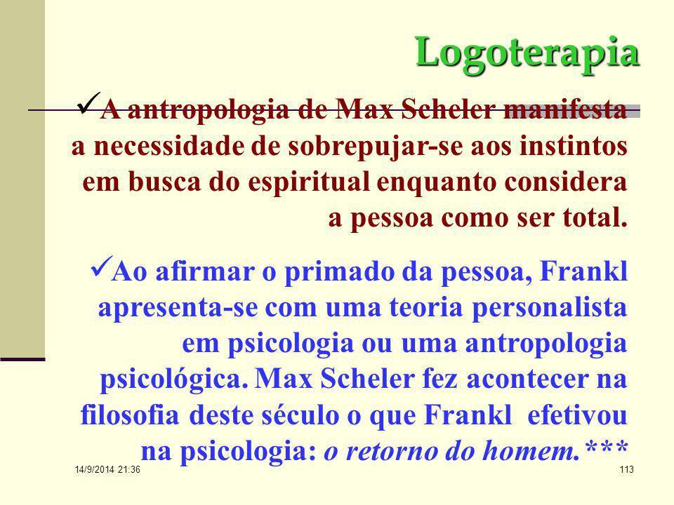 14/9/2014 21:38 112 A decorrência desta concepção é o conflito entre a consideração da utilidade do homem em contraposição à sua dignidade.