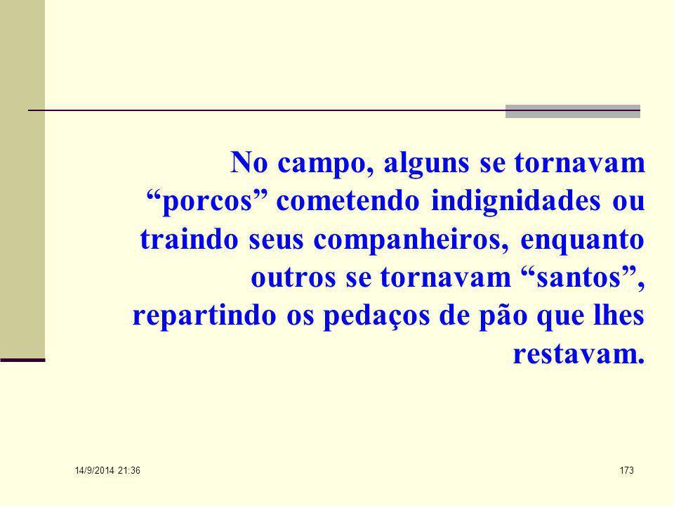 14/9/2014 21:38 172 Logoterapia A experiência em um campo de concentração, diz Frankl, demonstram que o homem tem capacidade de eleição... O homem pod