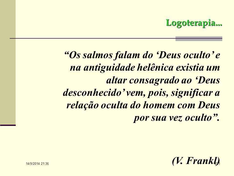 14/9/2014 21:38 220 Logoterapia... O HOMO RELIGIOSUS E A LOGOTERAPIA
