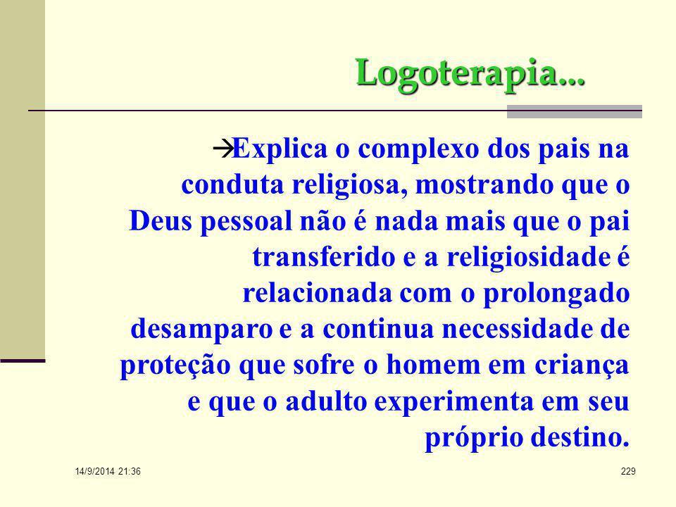 14/9/2014 21:38 228  Freud, desenvolvendo o estudo do homem religioso, destaca semelhanças e analogias entre o comportamento obsessivo e a prática re