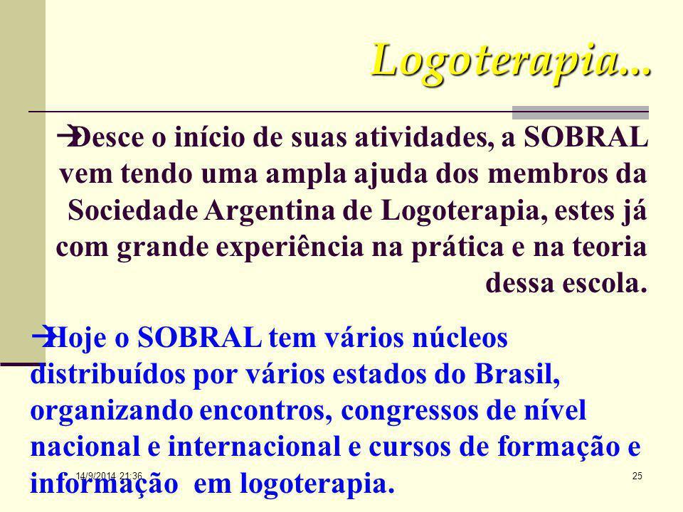 14/9/2014 21:38 24 A LOGOTERAPIA NA AMERICA LATINA: Foi em abril de 1984 que o Dr. Viktor Frankl veio ao Brasil, mas especialmente à cidade de Porto A