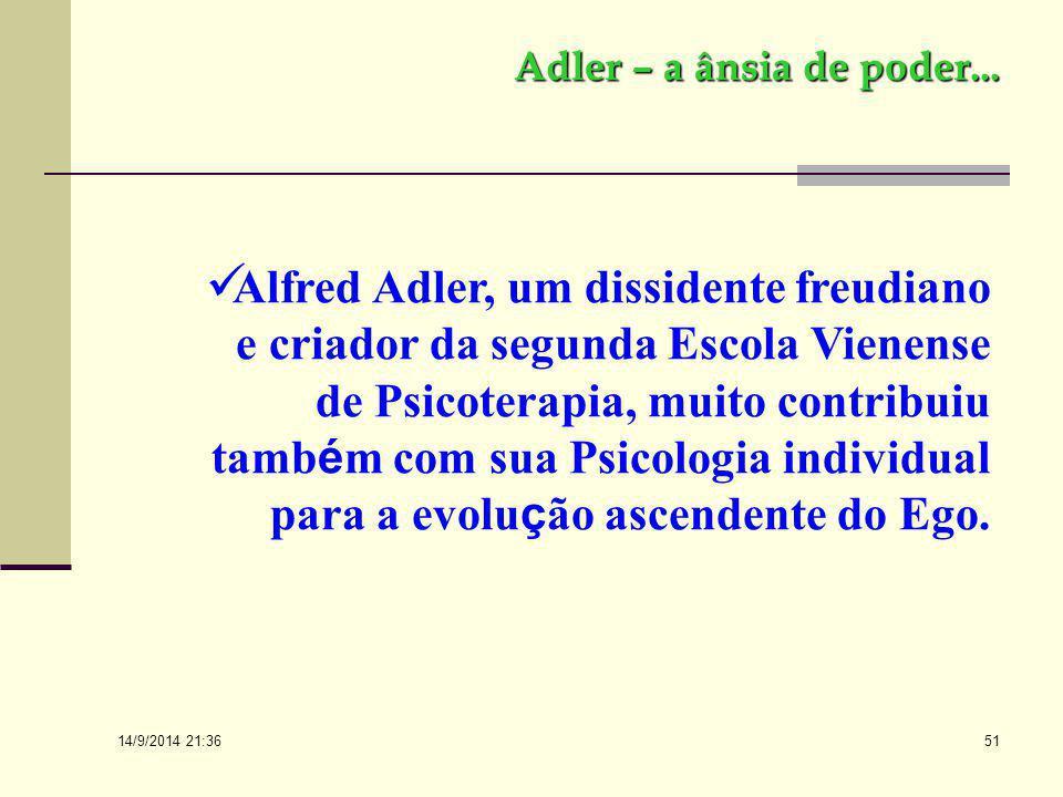 14/9/2014 21:38 50 Freud e o espírito... Isso significa, portanto, que, com a psicanálise propriamente dita, a origem de todos os processos psíquicos
