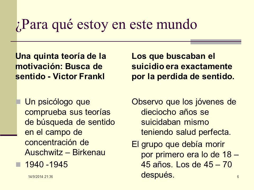 14/9/2014 21:38 56 OS FUNDAMENTOS DE LOGOTERAPIA (Contextualizando) Do Livro A PSICOLOGIA DO SENTIDO DA VIDA – Izar Ap.