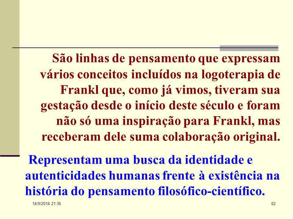 14/9/2014 21:38 61 As origens mais remotas poderiam se encontrar em Sócrates, Agostinho Pascal e Kierkegaard. Essas linhas foram denominadas de intuís