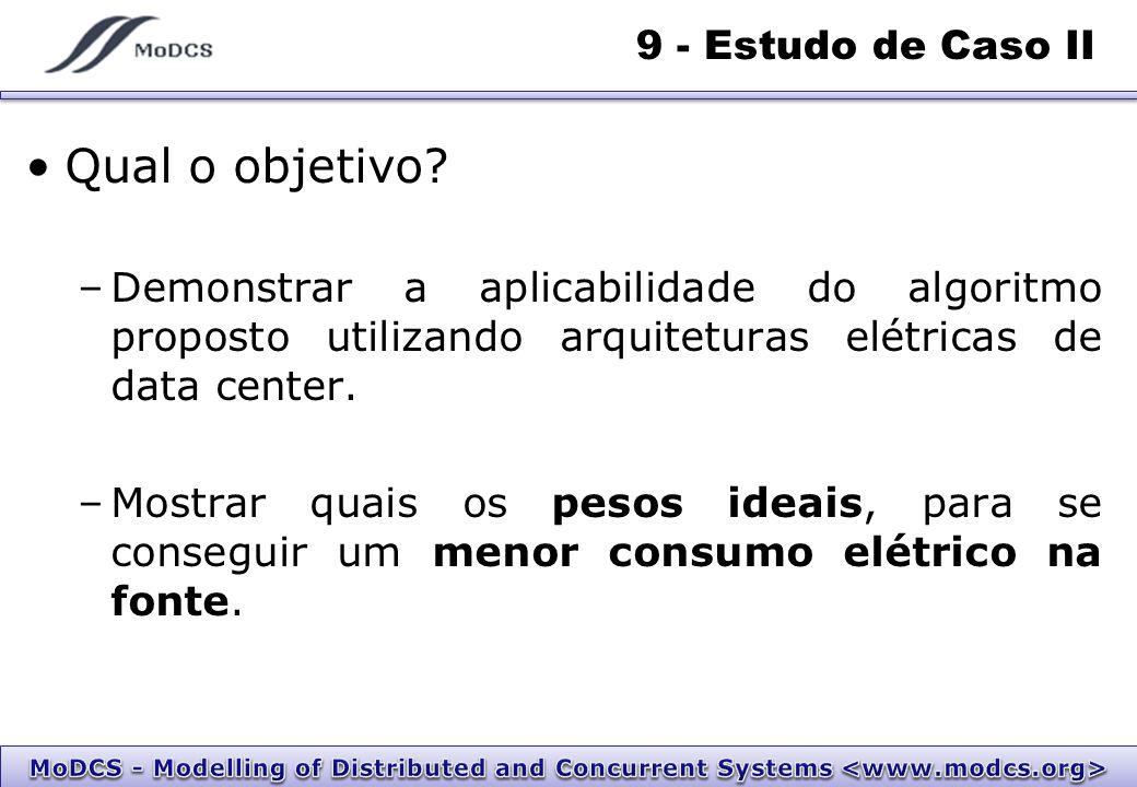 9 - Estudo de Caso II Qual o objetivo.