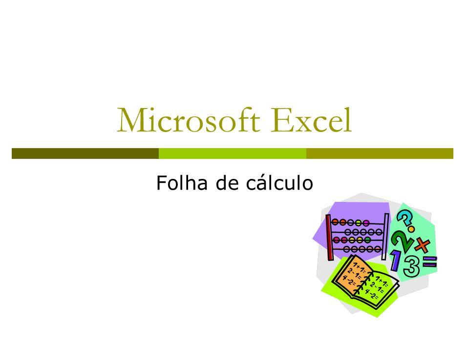 Microsoft Excel Folha de cálculo