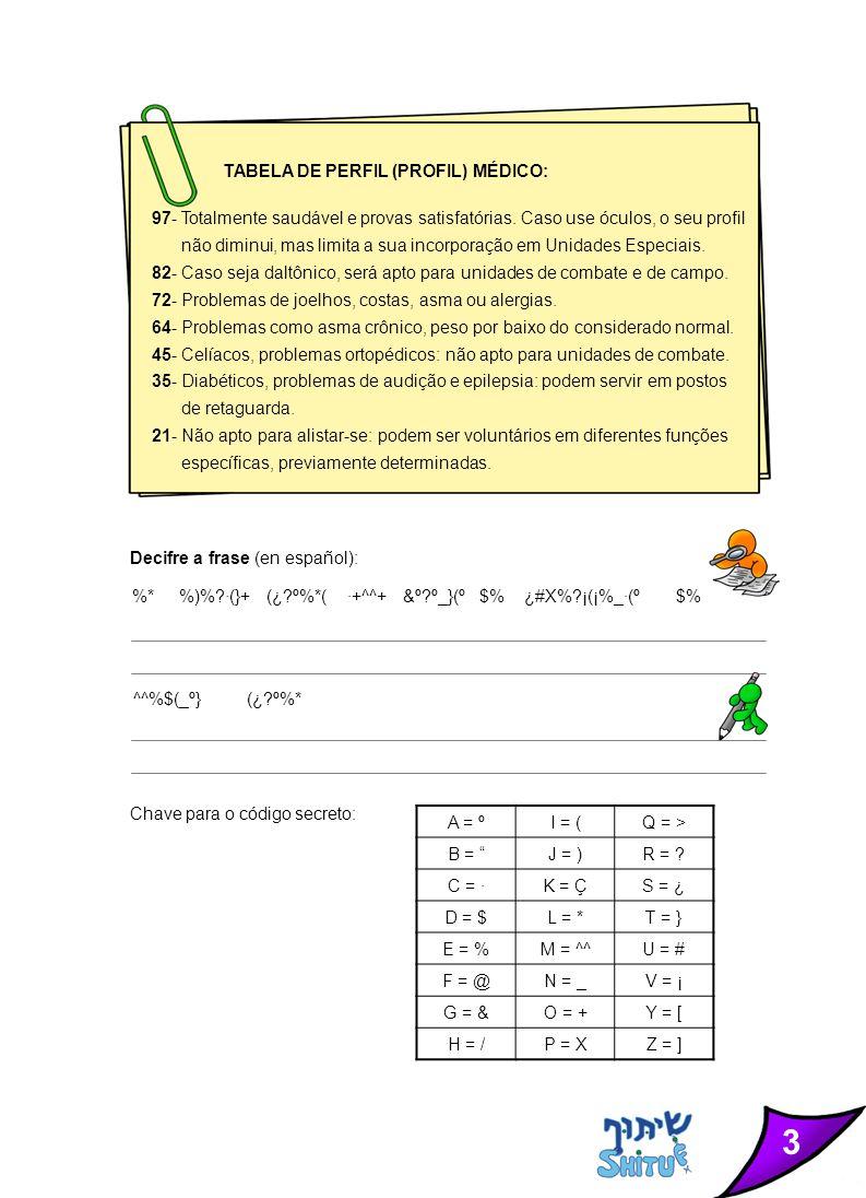 4 Crucigrama (en español)- Tzahal: