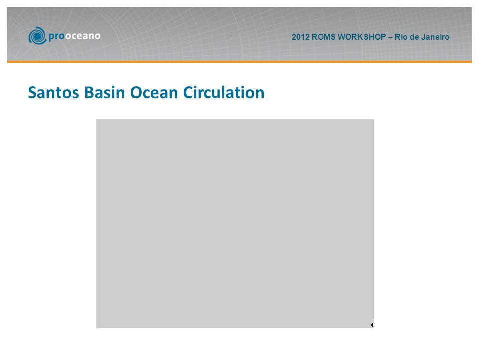 2012 ROMS WORKSHOP – Rio de Janeiro Santos Basin Ocean Circulation