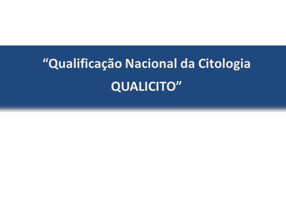 """""""Qualificação Nacional da Citologia QUALICITO"""""""