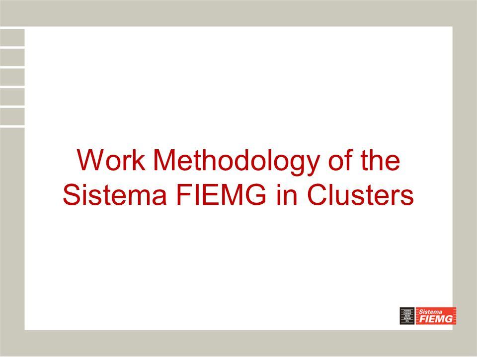 Work Methodology of the Sistema FIEMG in Clusters