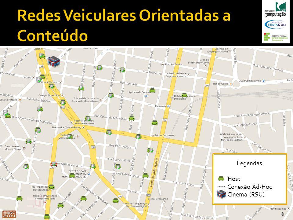 19 (a) Distância Consumidor-Produtor: 1 km.(b) Distância Consumidor-Produtor: 5 km.