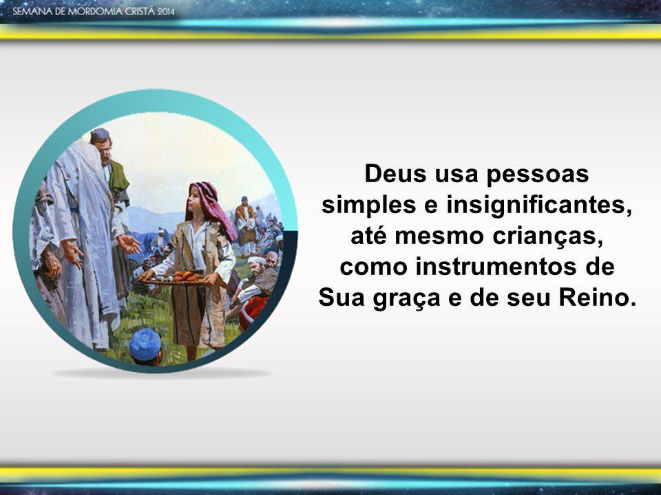 Deus pode usar você para trazer vitória ao Seu povo; ou como o menino na multidão, você pode ser uma bênção a muitos que têm fome de Jesus, o Pão da Vida.