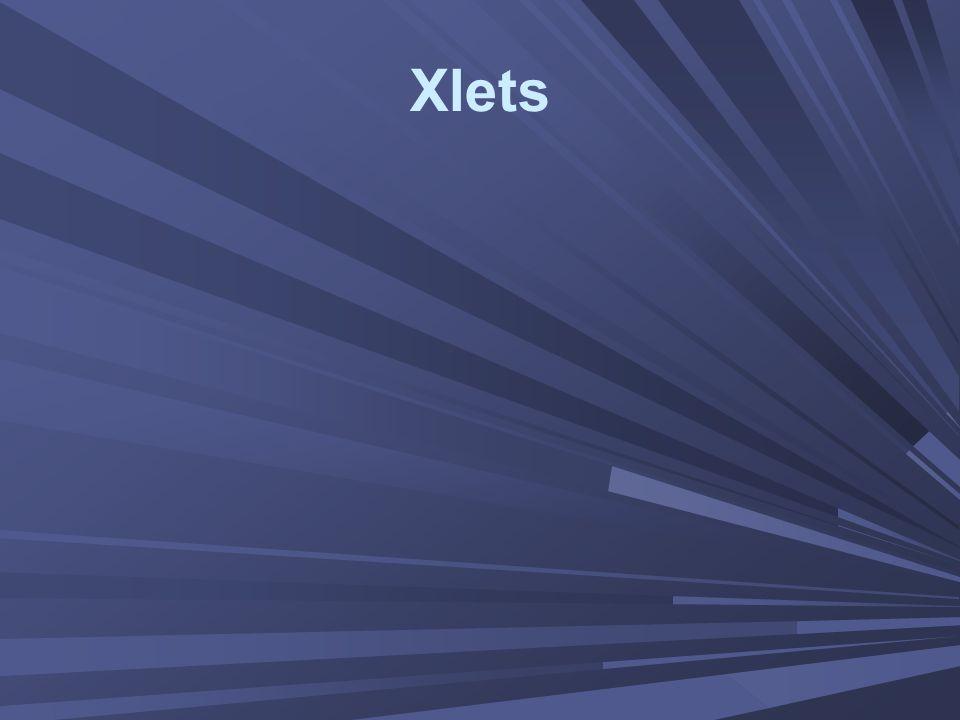 Xlets