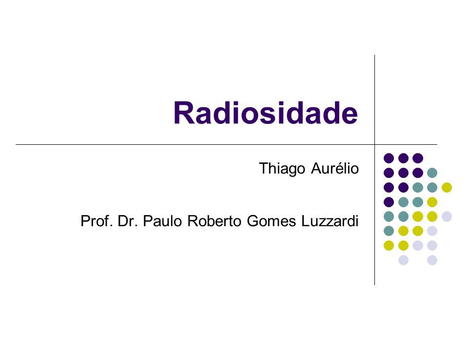 Radiosidade Thiago Aurélio Prof. Dr. Paulo Roberto Gomes Luzzardi