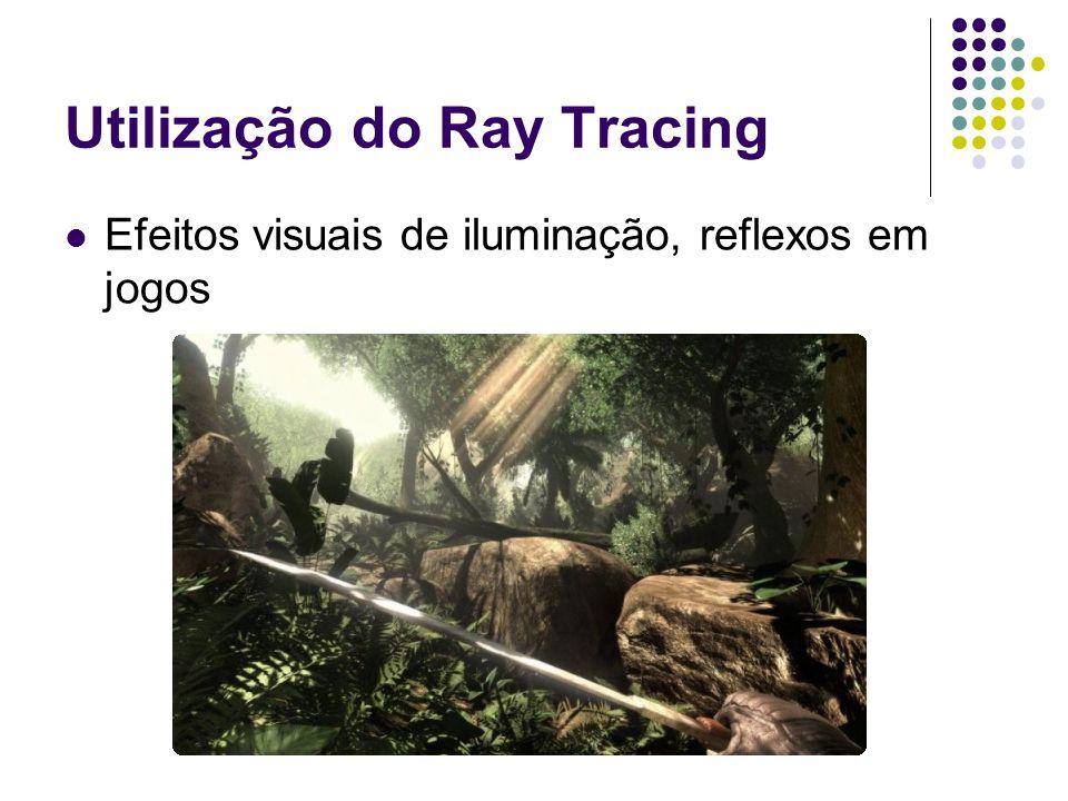 Utilização do Ray Tracing Efeitos visuais de iluminação, reflexos em jogos