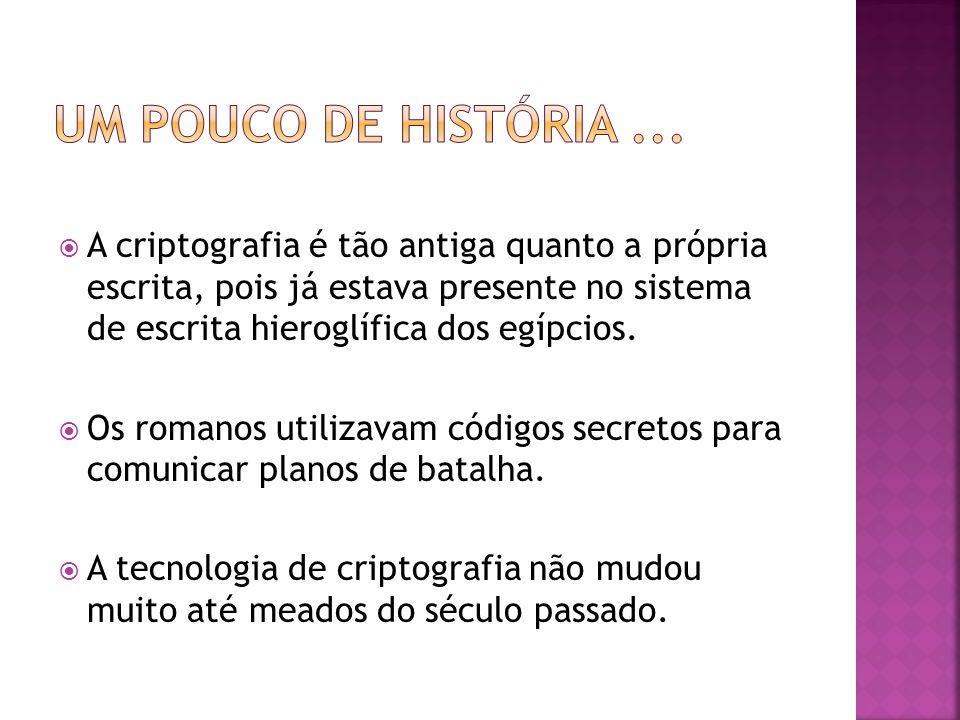  O que é Criptologia.