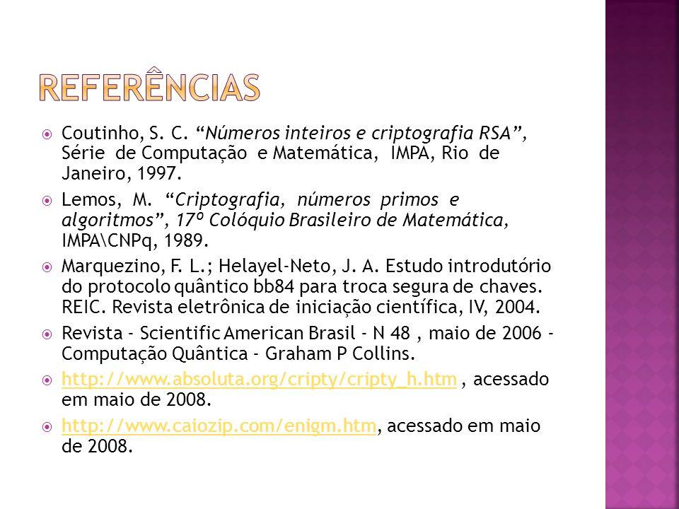  Coutinho, S.C.