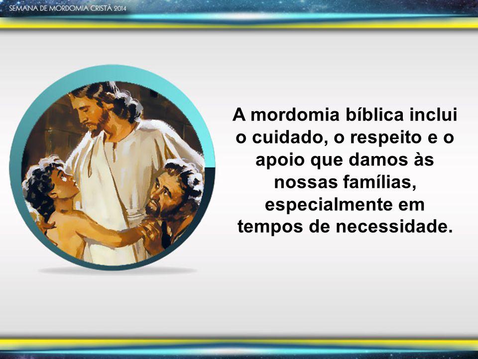 A mordomia bíblica inclui o cuidado, o respeito e o apoio que damos às nossas famílias, especialmente em tempos de necessidade.