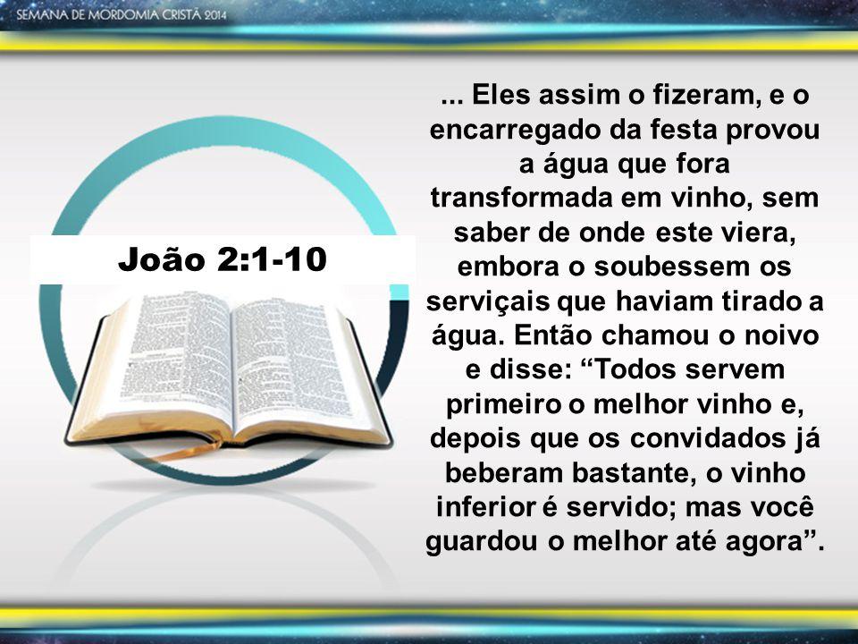 João 2:1-10...