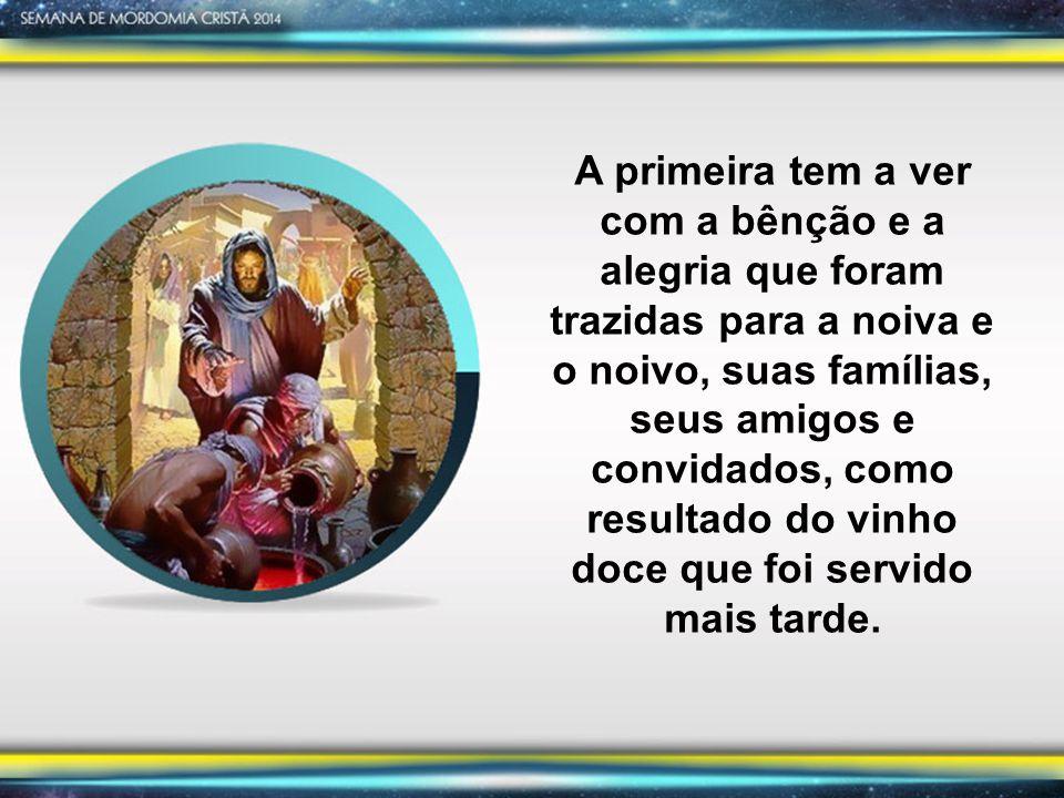 A segunda observação diz respeito ao propósito e tempo de Deus por este milagre.