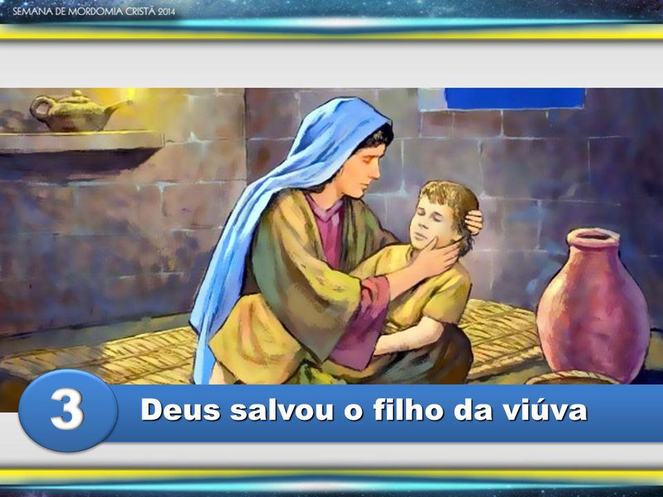 Nesta história de fé e oração, Elias representa Deus.