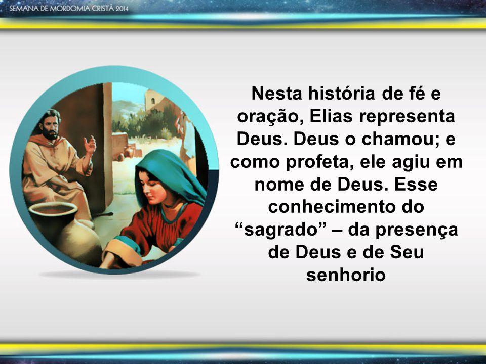 Depois de prover alimento para a viúva, para seu filho e para si mesmo por algum tempo, Elias, pelas circunstâncias além de seu controle, recebeu outra tarefa ministerial e desafio.