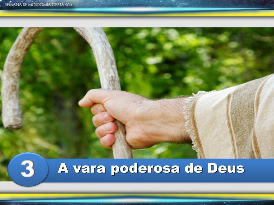 A vara poderosa de Deus