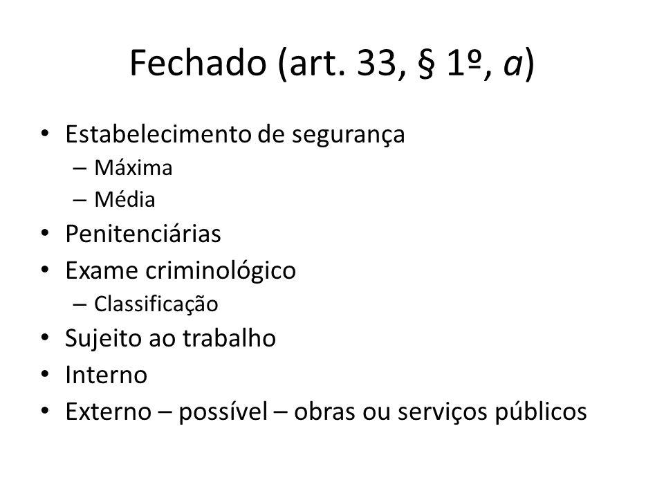 Fechado (art.