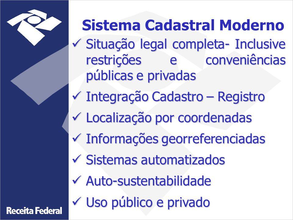 Situação legal completa- Inclusive restrições e conveniências públicas e privadas Situação legal completa- Inclusive restrições e conveniências públic