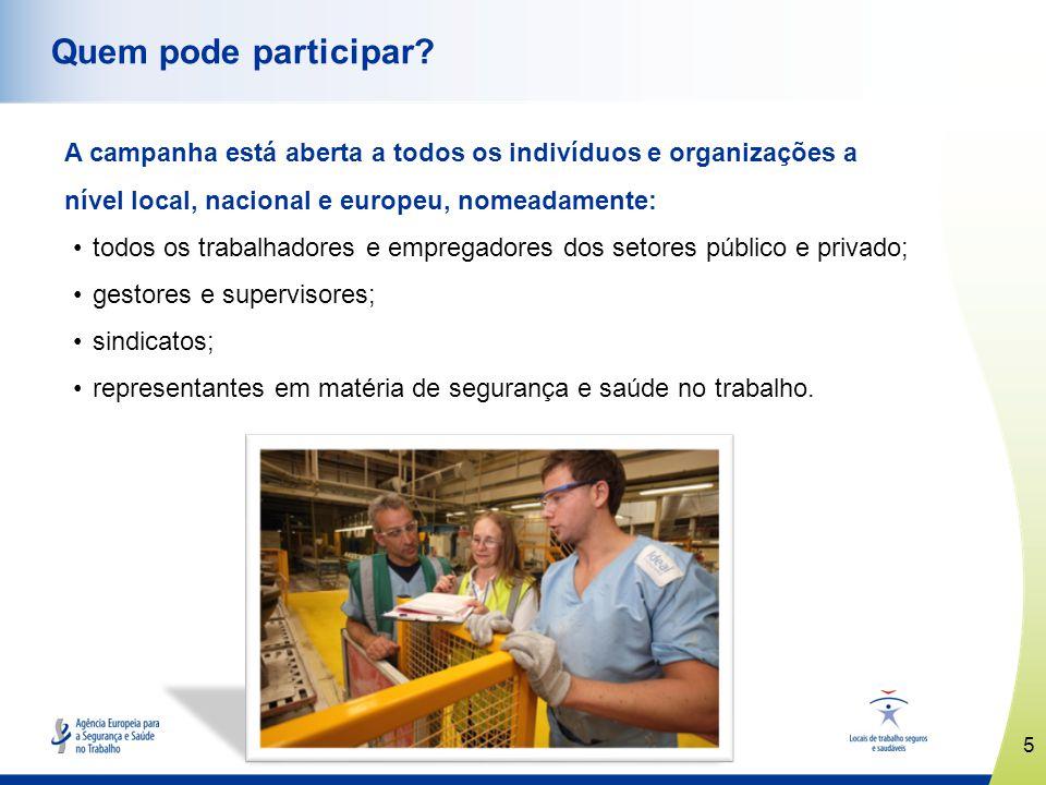 6 www.healthy-workplaces.eu Como pode participar.