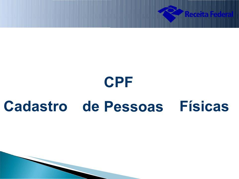 CPF Pessoas CadastrodedeFísicas