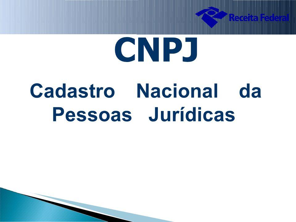 CNPJ CadastroNacionalda PessoasJurídicas