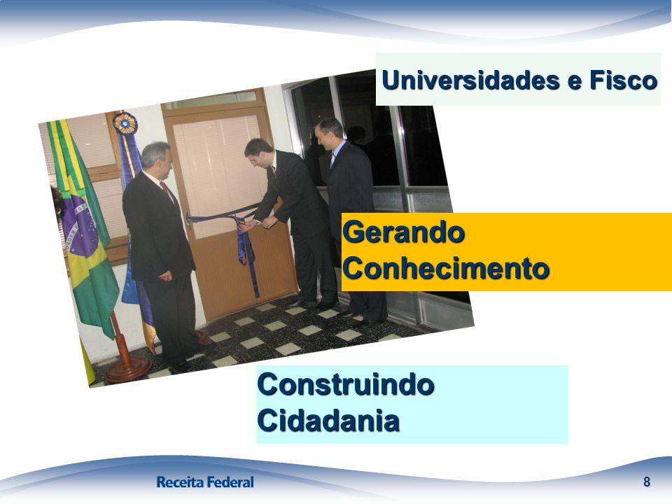 8 Gerando Conhecimento Construindo Cidadania Universidades e Fisco