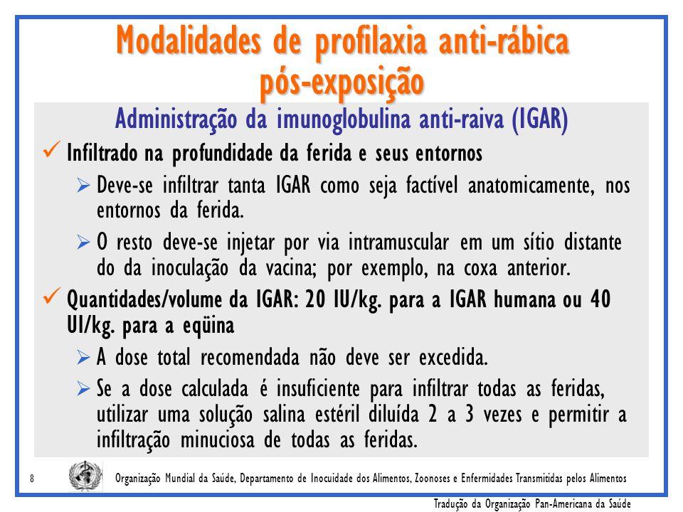Organização Mundial da Saúde, Departamento de Inocuidade dos Alimentos, Zoonoses e Enfermidades Transmitidas pelos Alimentos Tradução da Organização P