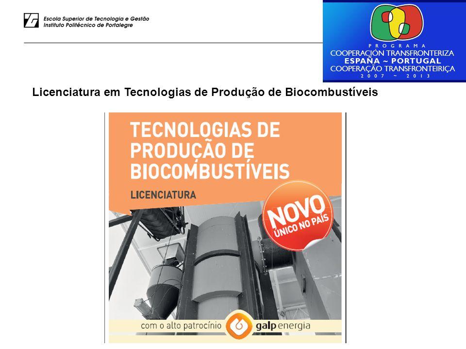 Luiz Rodrigues – ESTG do IPP Licenciatura em Tecnologias de Produção de Biocombustíveis