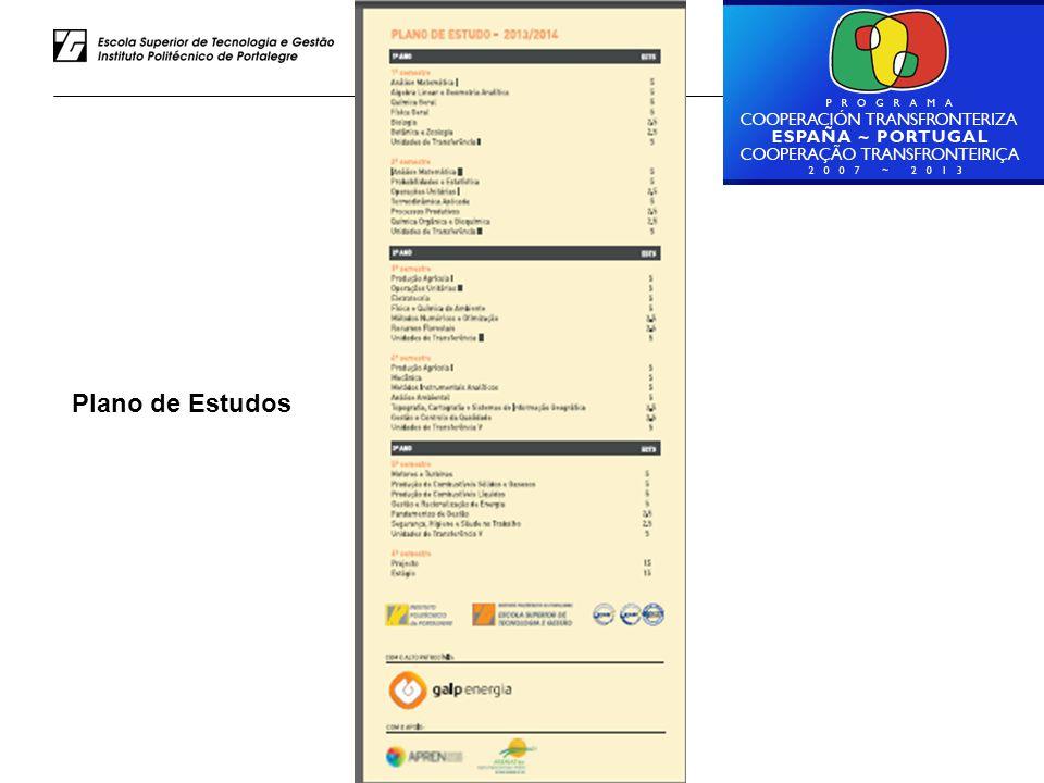 Luiz Rodrigues – ESTG do IPP Plano de Estudos