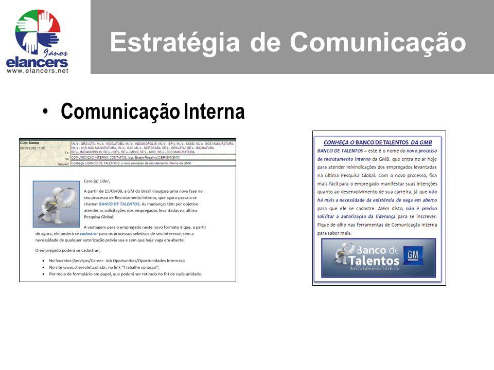 Comunicação Interna Estratégia de Comunicação