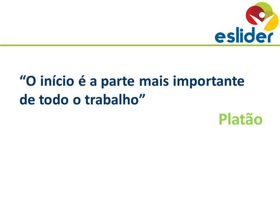 O início é a parte mais importante de todo o trabalho Platão