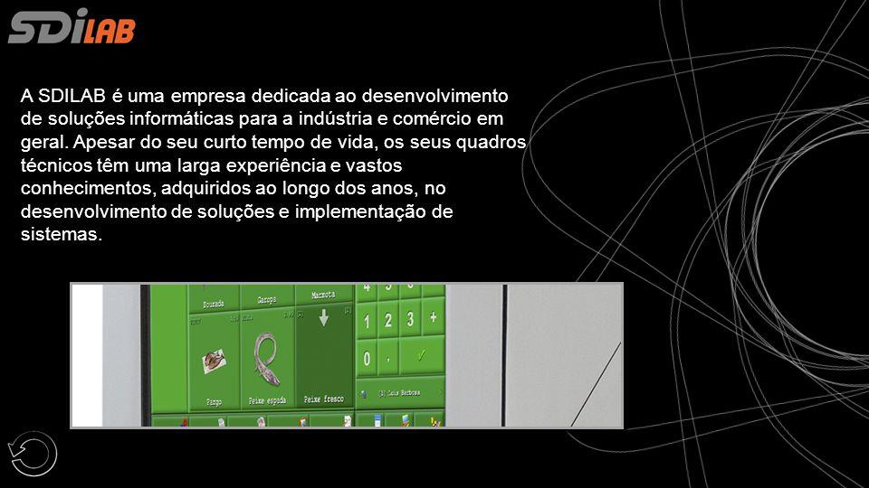 A SDILAB é uma empresa dedicada ao desenvolvimento de soluções informáticas para a indústria e comércio em geral.