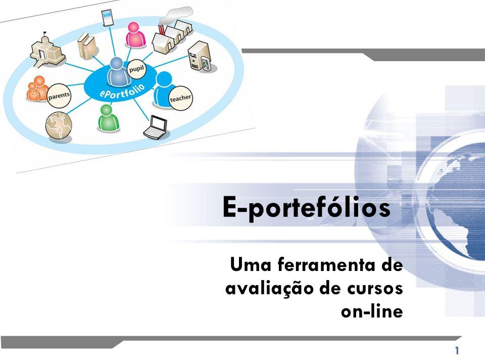 1 E-portefólios Uma ferramenta de avaliação de cursos on-line
