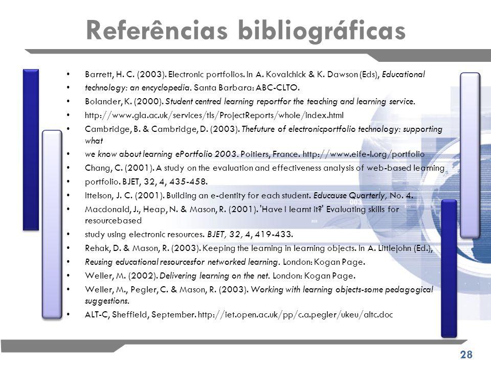 28 Referências bibliográficas Barrett, H. C. (2003).