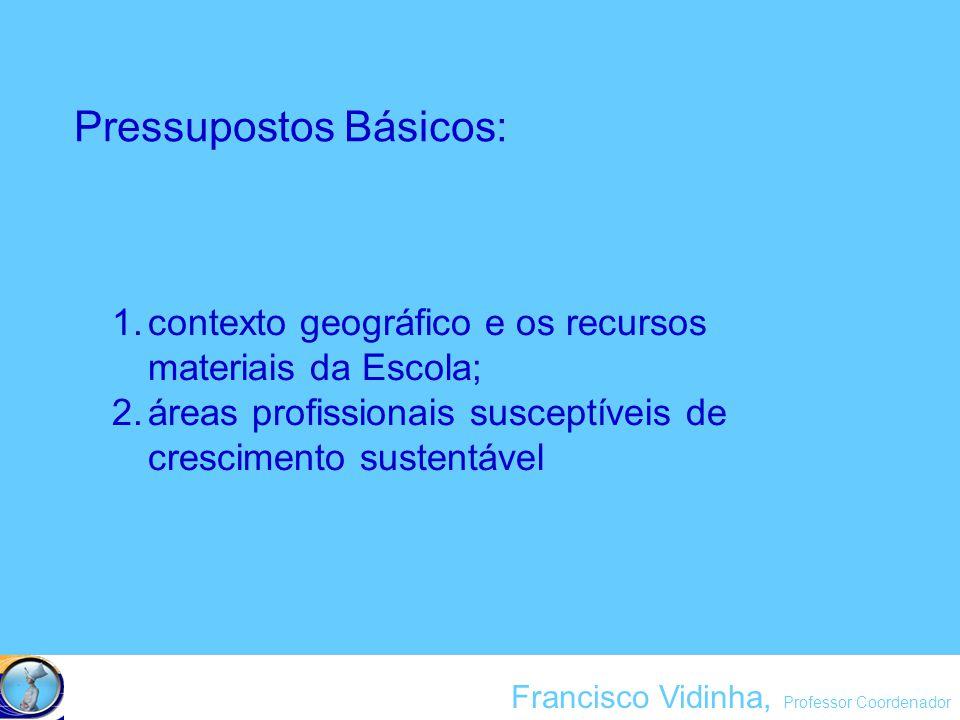 Francisco Vidinha, Professor Coordenador análise da dialéctica ambiente / saúde, facultando cursos que intervêm nos diferentes factores/áreas intervenientes nessa dialéctica, visando sempre a promoção da saúde