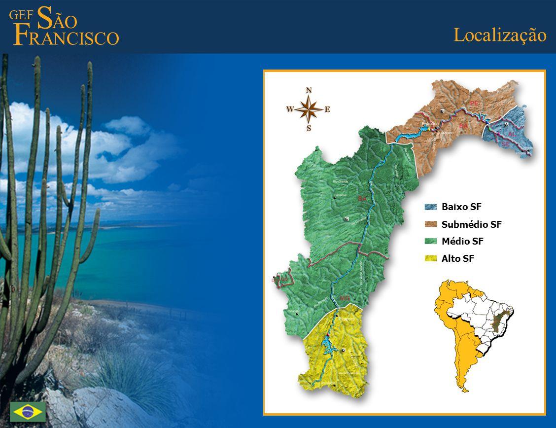 GEF S ÃO F RANCISCO Best Practices - C Groundwater Monitoring Melhores Práticas - C Monitoramento da água subterrânea