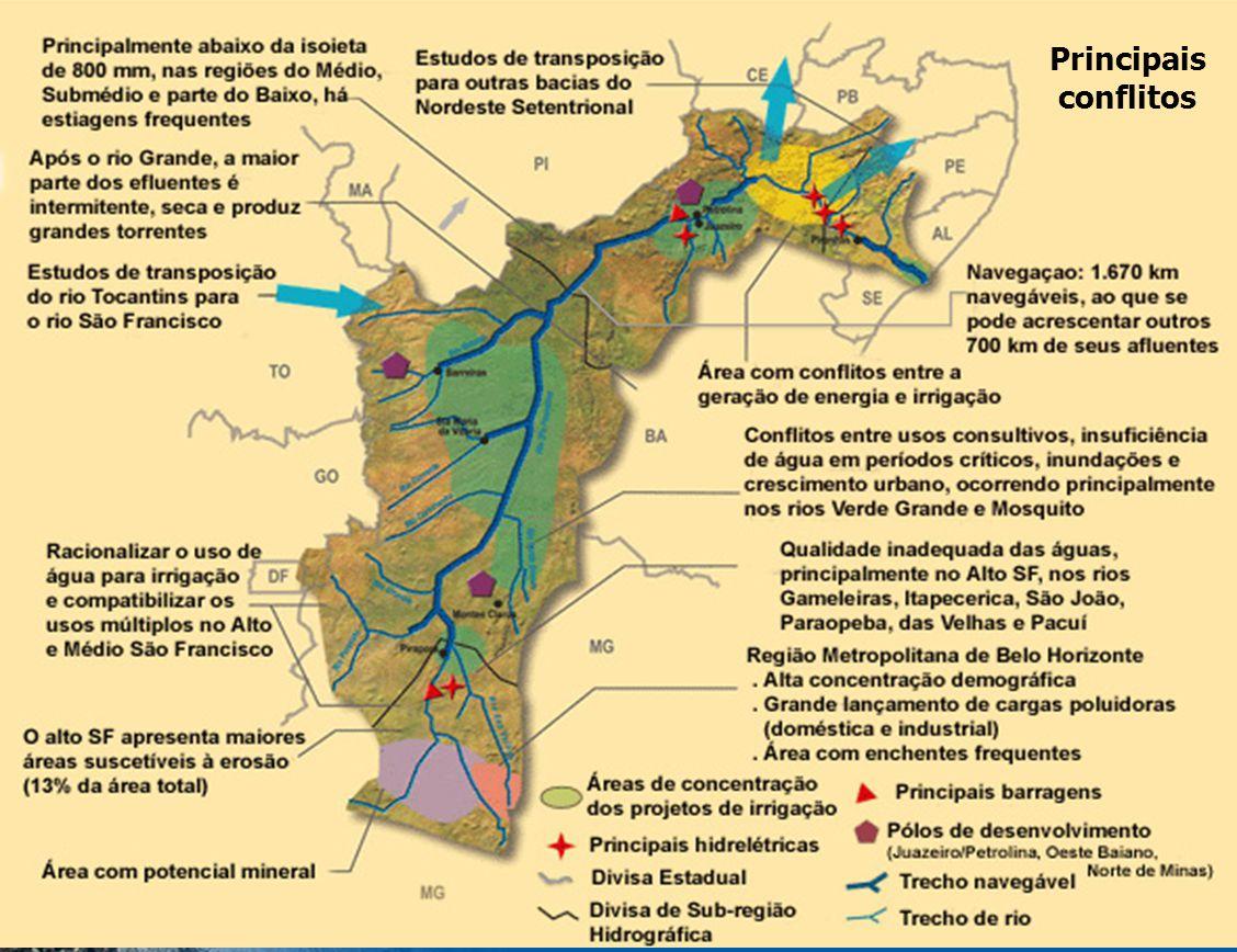 GEF S ÃO F RANCISCO Estrutura Operacional do Projeto GEF São Francisco P2GEF São Francisco SUBPROJETOS S1 S2 S3...